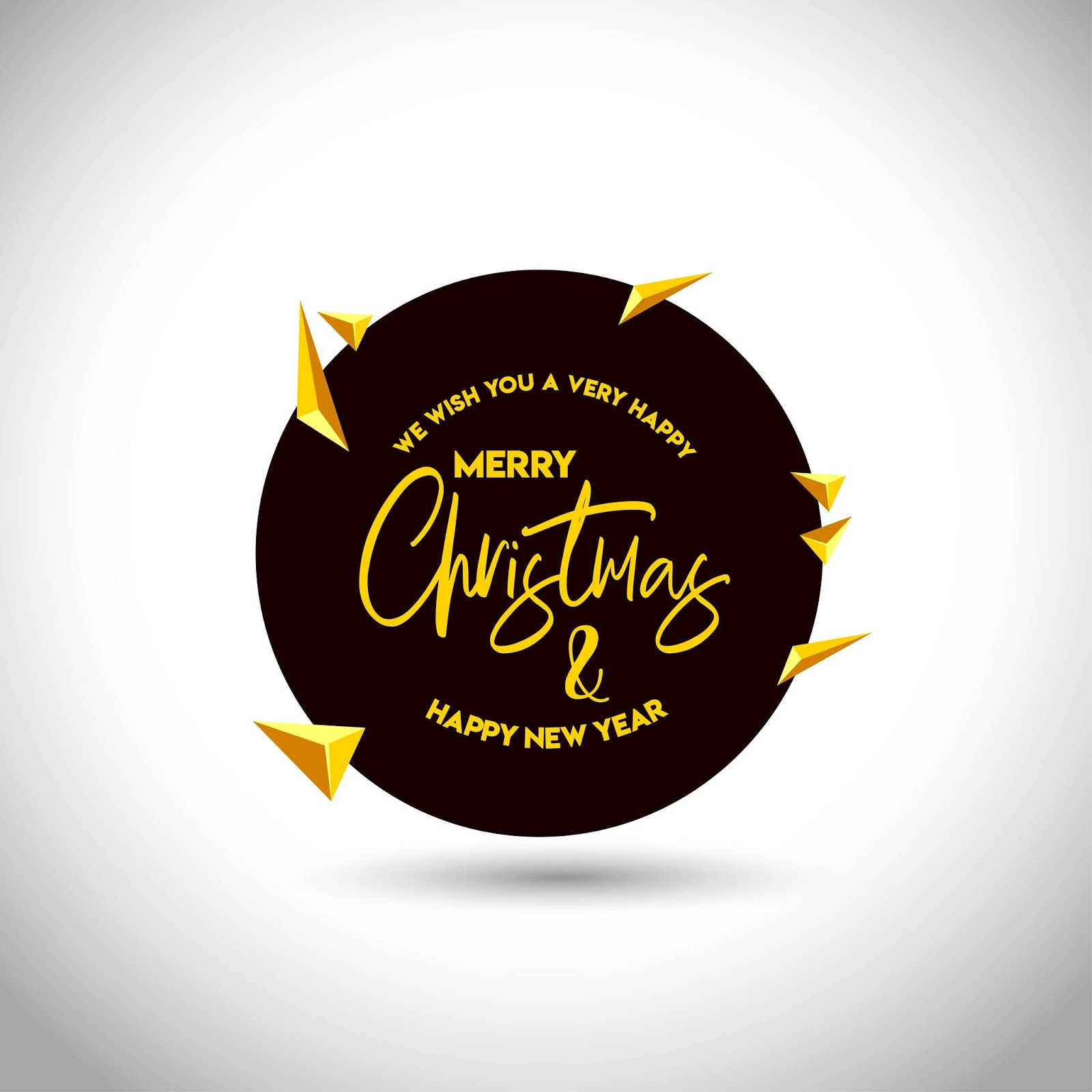 Christmas Card Design With Elegant Design Free Download Vector CDR, AI, EPS and PNG Formats