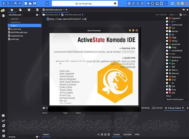 ActiveState Komodo IDE 10