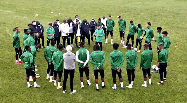 Algeria Vs Nigeria: NFF has debunked rumours that some Super Eagles Players Testing Positive To COVID-19