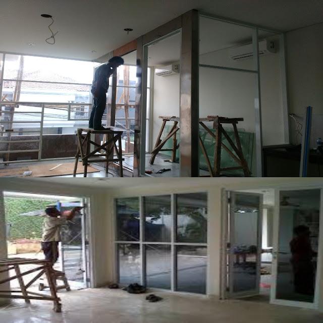 Jasa Tukang Kusen Pintu Aluminium Kaca dan Harga Pemasangan