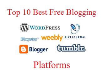 Top 10 Best Free Blogging Platforms For 2016