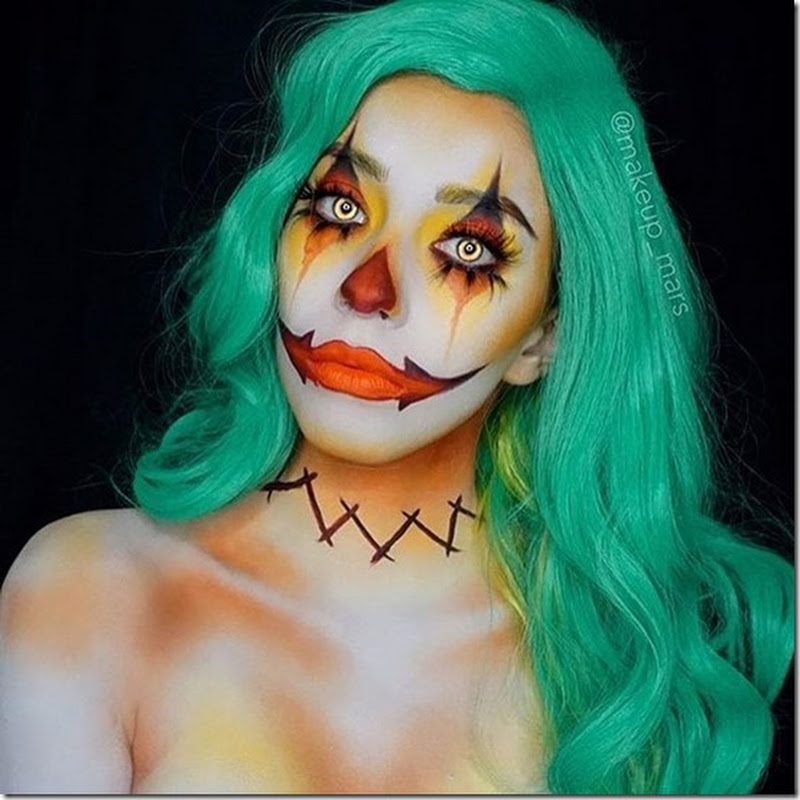 8 originales maquillajes para halloween