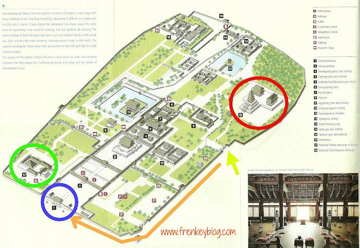 Klik Untuk Perbesar ( Peta Gyeongbokgung Palace )