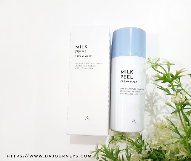 Review Althea Korea's Milk Peel Cream Mask
