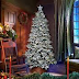 Instructions to Decorate Your Home With Flocked Christmas Trees