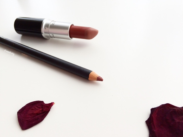 Mac whirl lip pencil and mac whirl lip liner