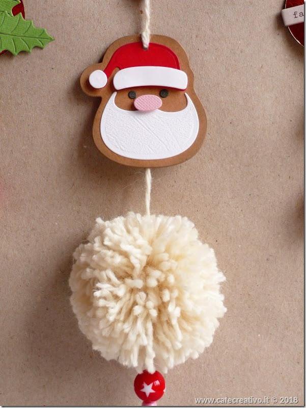 Decorazione natalizia con PomPon