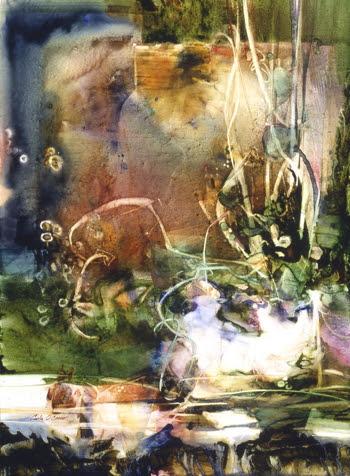 Watergrass. Artist Carla O'Connor, AWS-df/NWS
