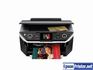 How to reset Epson RX680 printer