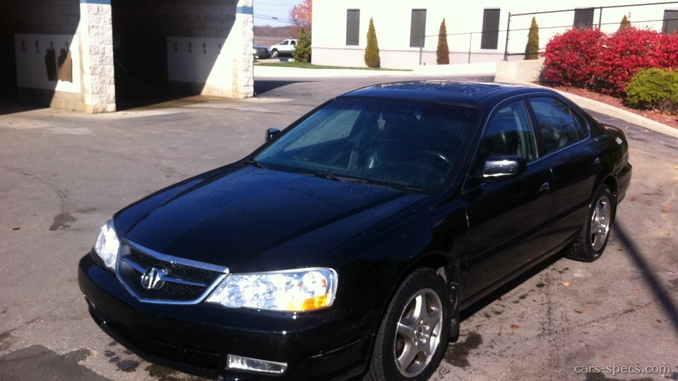 2000 Acura TL Sedan Specifications, Pictures, Prices