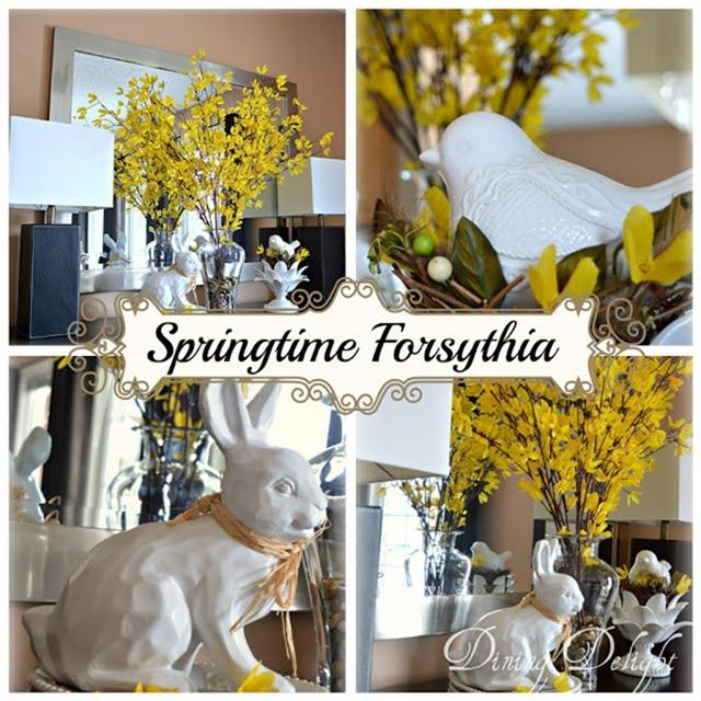 Springtime Forsythia-TOHOT  #7 Features