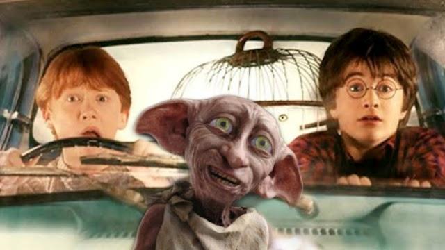 Há 29 anos Harry e Rony perdem o Expresso de Hogwarts por causa de Dobby