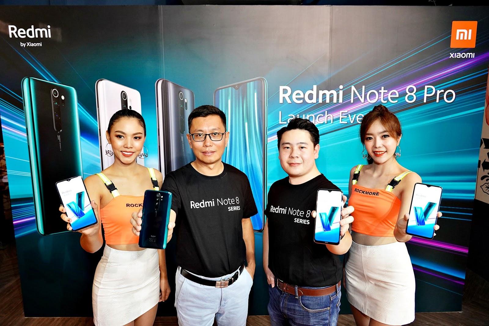 Xiaomi เปิดตัว Redmi Note 8 Series  ยืนหนึ่งผู้นำตลาดสมาร์ทโฟนระดับกลางและอุปกรณ์อัจฉริยะ  ส่งกล้องความละเอียด 64MP ลงตลาด