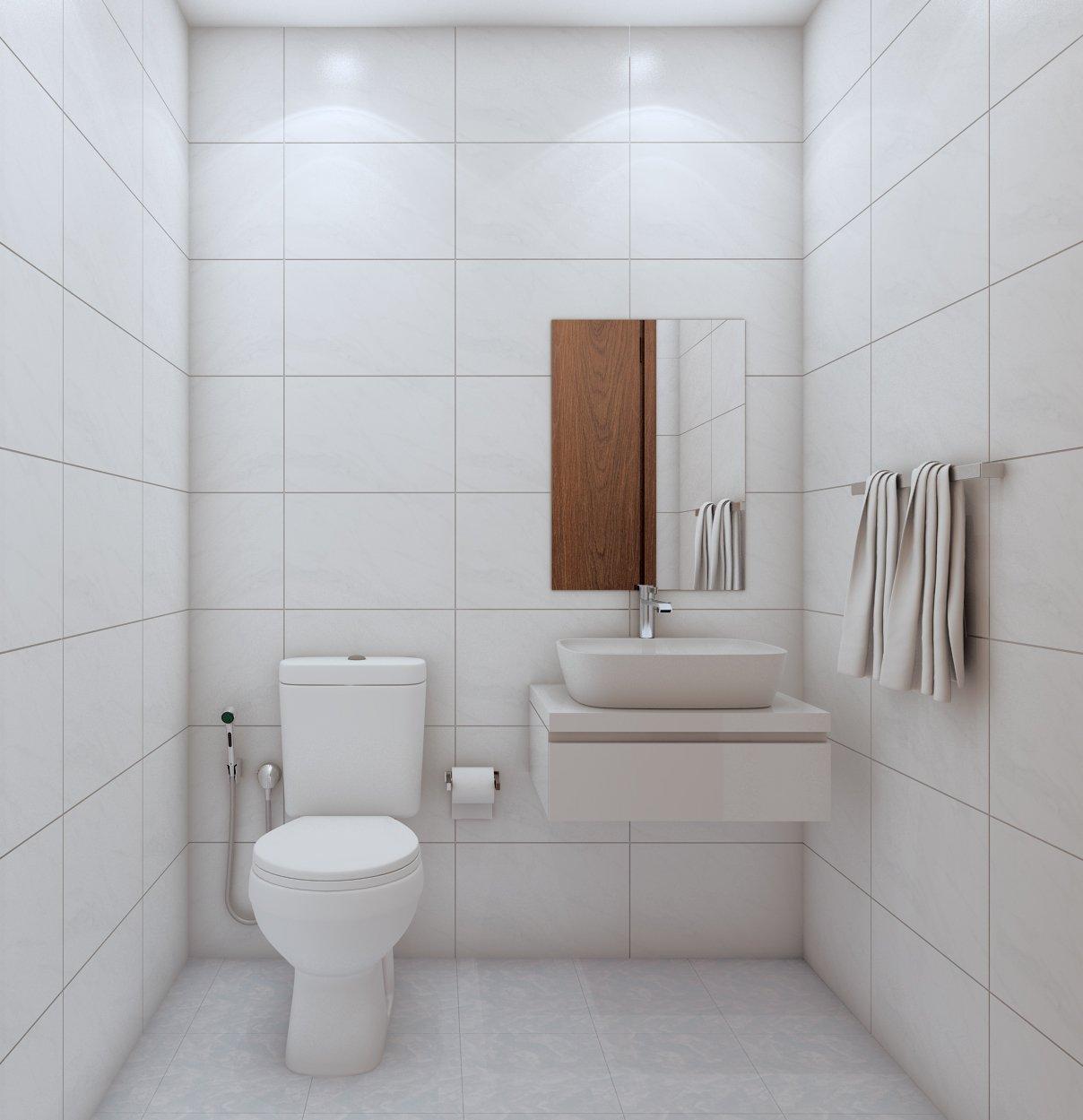 Nội thất WC Bcons Suối Tiên