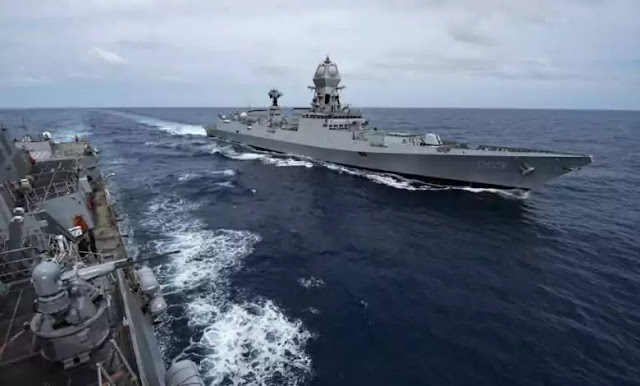 INS Jalashwa Arrives at Port of Antsiranana, Madagascar with Naval Training Team