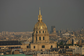 Les Invalides, from the Eiffel Tower