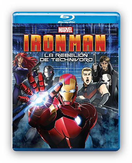 Iron Man. La rebeli�n de Technivoro [BDRip m1080p][Espa�ol AC3][Subs][Anime][2013]