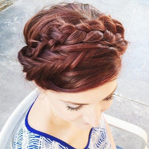 20 Best Milkmaid Hairstyles  Pretty Milkmaid Hair for 2018 5