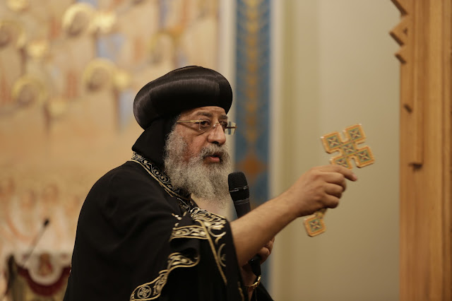 His Holiness Pope Tawadros II visit to St. Mark LA - _09A9119.JPG
