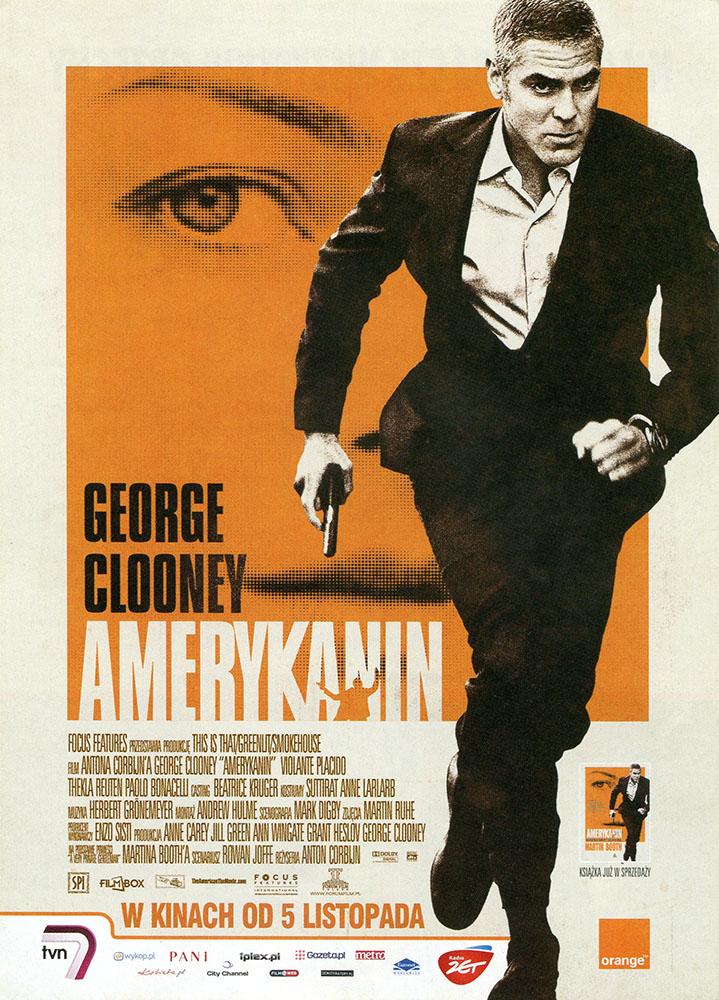 Ulotka filmu 'Amerykanin (przód)'