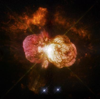 a grande erupção de Eta Carinae