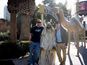 at the Sahara