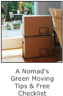 a nomad's green moving tips and free checklist
