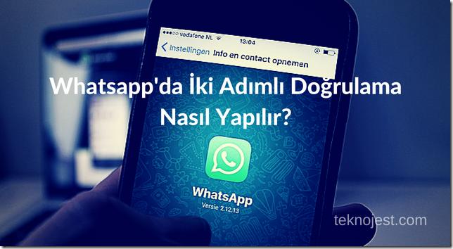 whatsapp-iki-adımlı-doğrulama