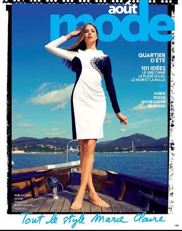 Nadine Naue - Marie Claire Francia - Agosto 2012