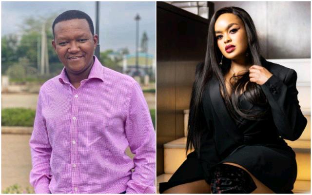 Machakos Governor Alfred Mutua and Lilian Ng'ang'a now has Avril