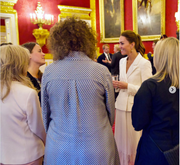 Prince William's secret outing as Kate Middleton Dazzles at Reception