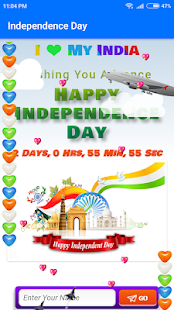 Download independence day wish (Animation Wish) For PC Windows and Mac apk screenshot 1