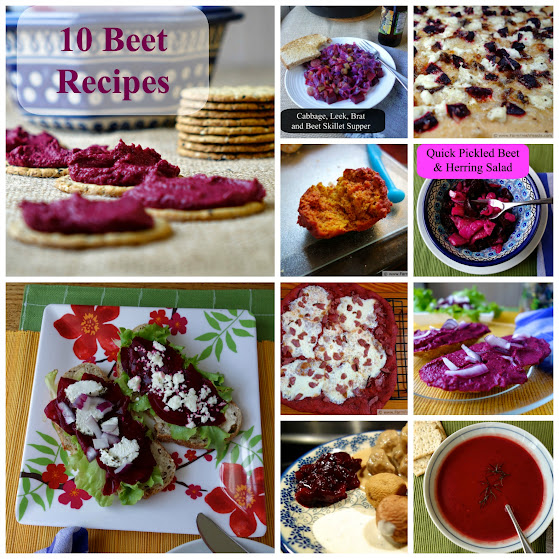 10 Recipes featuring Beets, from Appetizers to Entrees to Snacks to Soups | Farm Fresh Feasts