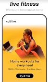 Workout with India's most trusted fitness app, cure fit