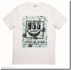 Coach x Keith Haring T-Shirt in Optic White (29624)