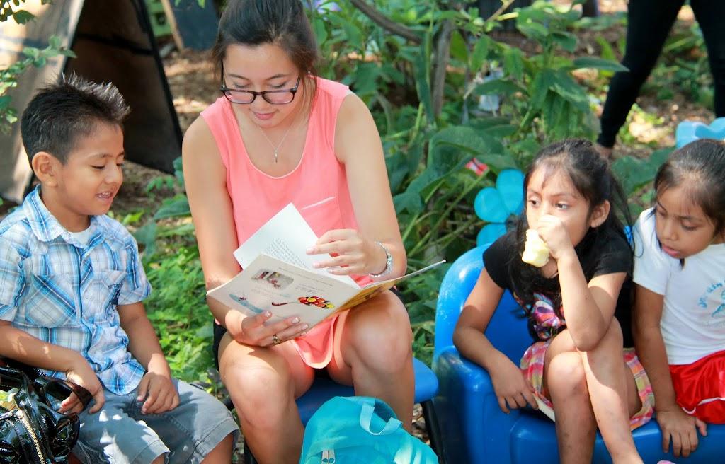 Katelynn reads