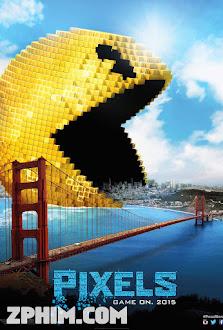 Đại Chiến Pixels - Pixels (2015) Poster