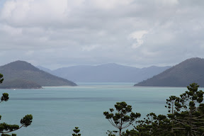 Looking across to Whitsunday Island