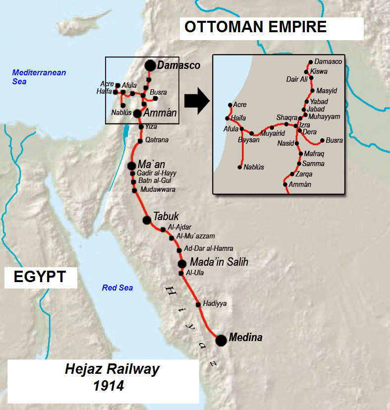hejaz-railway-map