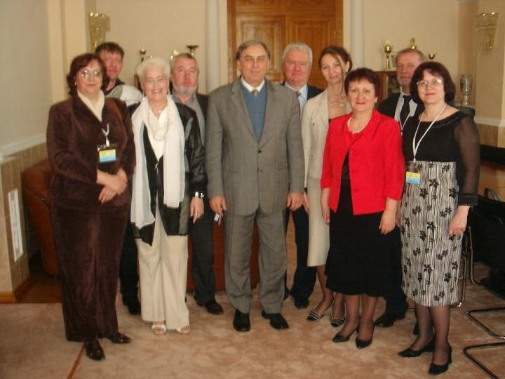 Члени журі Другого туру Всеукраїнської олімпіади з психології з ректором ОНУ В.А.Сминтиною