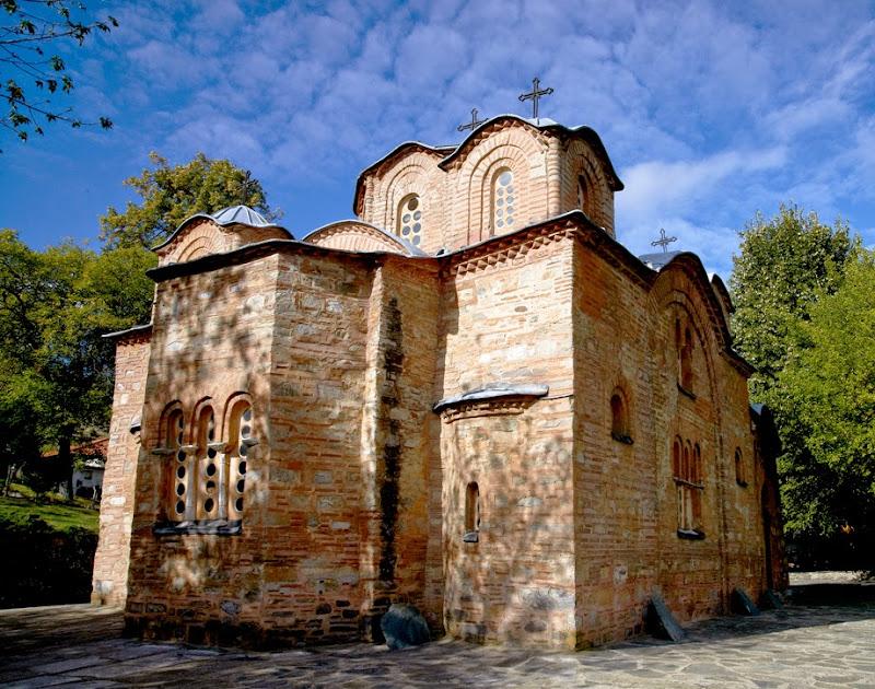 14. The Church of St. Panteleimon in Gorno Nerezi. XII Century
