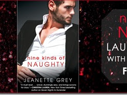 New Release: Nine Kinds of Naughty (Art of Passion #3) by Jeanette Grey + Teaser, Excerpt, and GIVEAWAY
