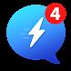 メッセージ用messenger(メッセンジャー)、ビデオチャット、無料のコールID