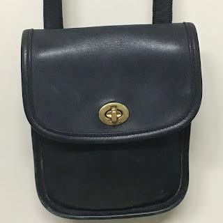 Coach Black Camera Bag (Wide Strap)