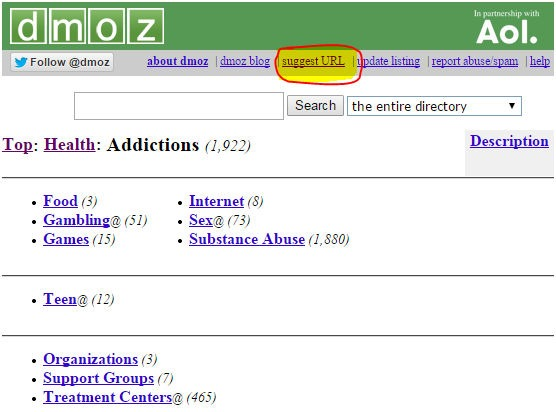 dmoz-suggest