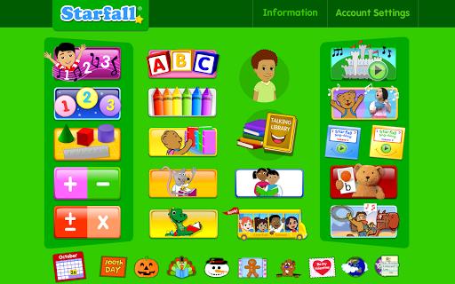 Starfall Free & Member screenshot
