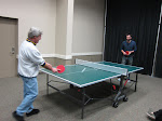 this started when Brad (the promoter) said he'd pay $10 to anyone who could beat him at ping-pong.  He only lost $20 the whole day and it was to Josh.