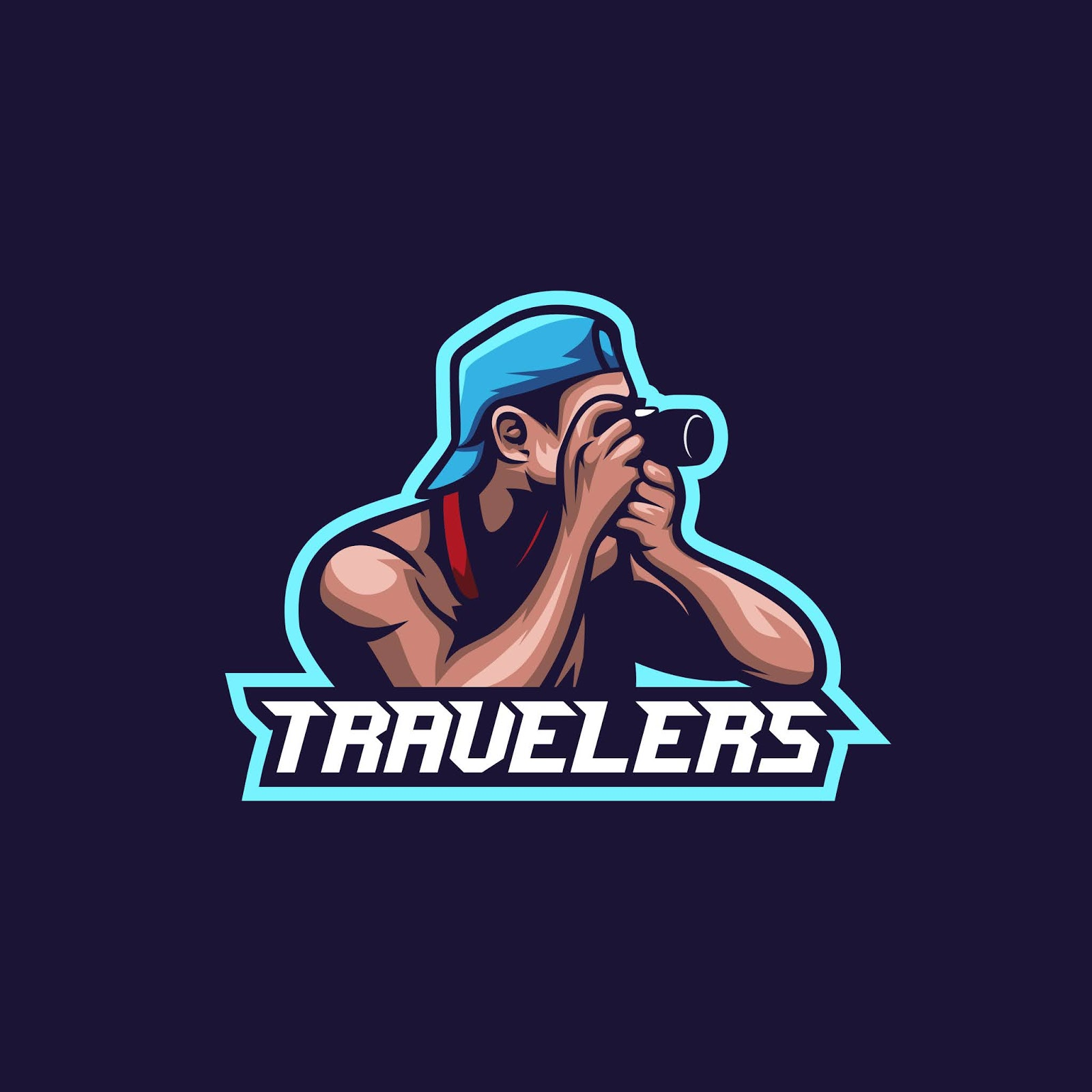 Traveler Take Photo Illustration Premium Free Download Vector CDR, AI, EPS and PNG Formats