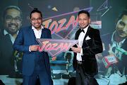 Johan dan Zizan bergabung dalam JOZAN di Astro Warna