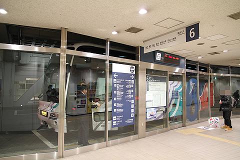 名鉄バス「名古屋~松山線」 2701 名鉄バスセンター改札中 その1